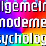 Allgemeine moderne Psychologie