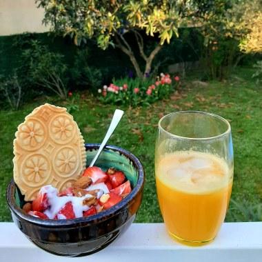 petit déjeuner healthy