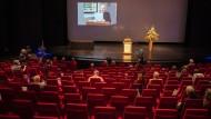 Verleihung des Büchnerpreises: Leere Ränge, leerer Stream