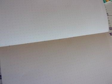 papier pointillé