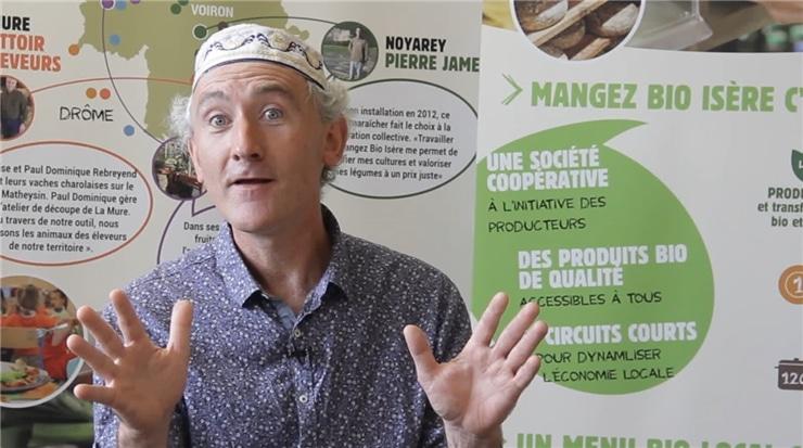 VincentRoze président du GAB Mangez Bio Isère