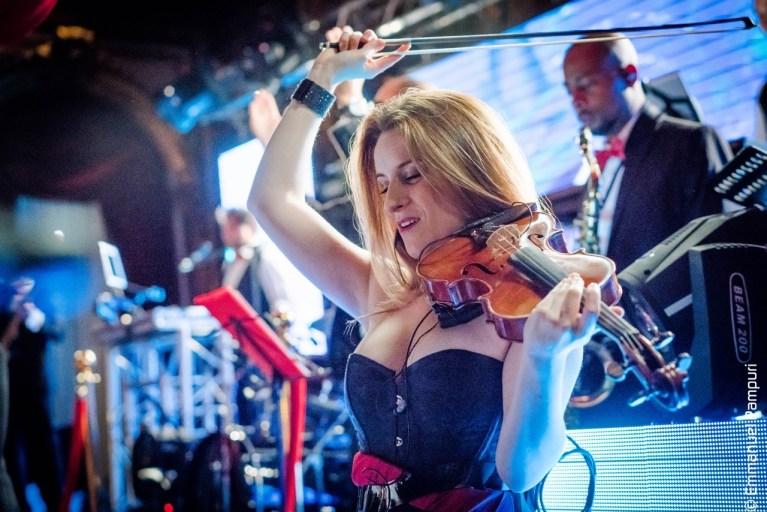 Soirée violoniste glamour