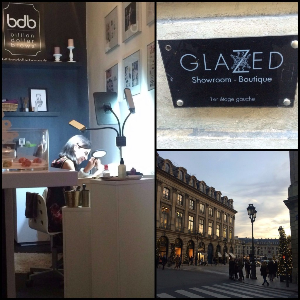 Showroom Glazed situé à côté de la place Vendôme