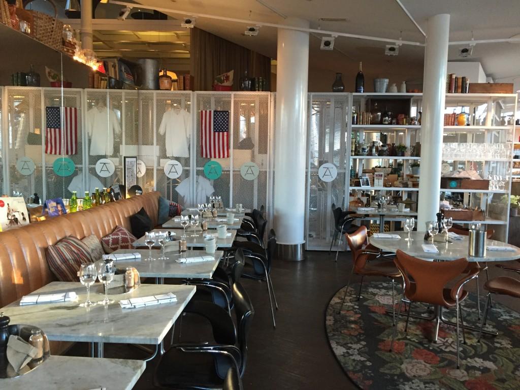 Restaurant America du Clarion Hotel Sign à Stockholm