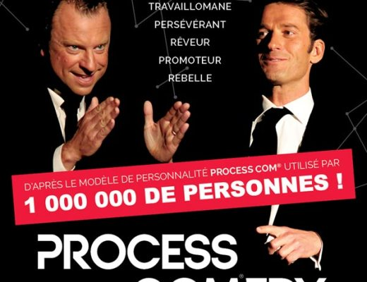 L'affiche du spectacle process comedy