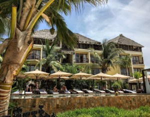 piscine du Z Hotel à Zanzibar