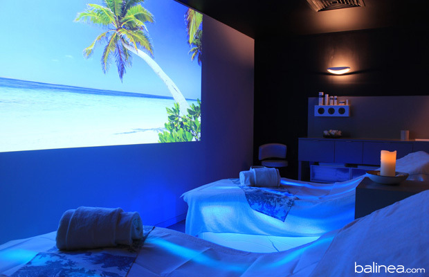 massage au spa aquamoon