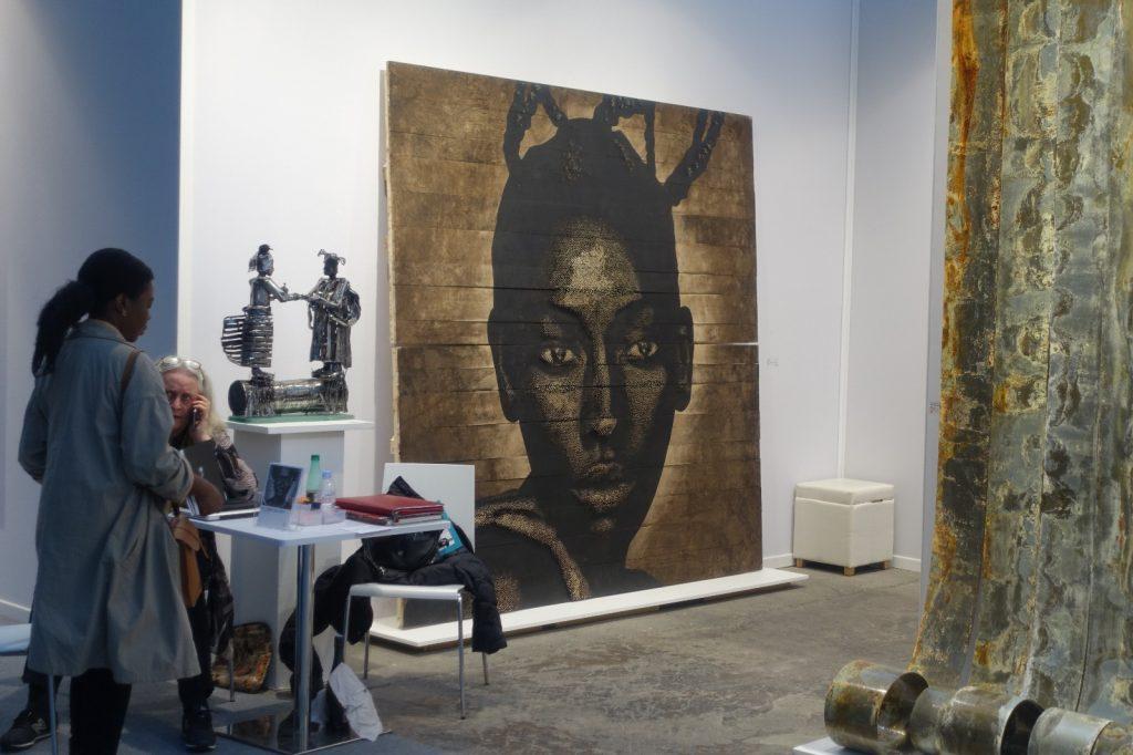 art-paris-afrique-tableau-femme-noire