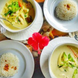 déjeuner en thaïlande du sud