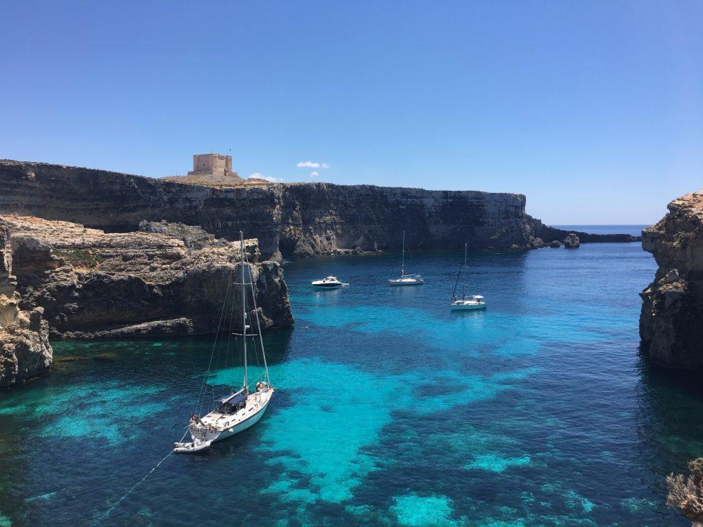 les-exploratrices-malte-mer-turquoise