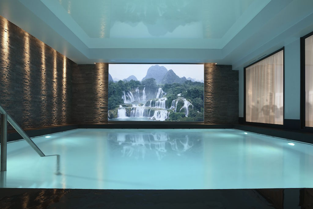 le spa villa thalgo et sa grande piscine