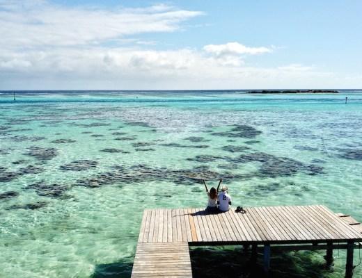 Moorea et son lagon en polynésie française