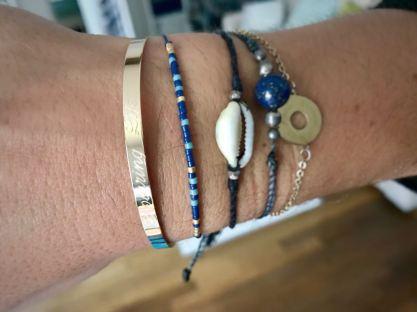 bracelet jonc personnalisé à offrir