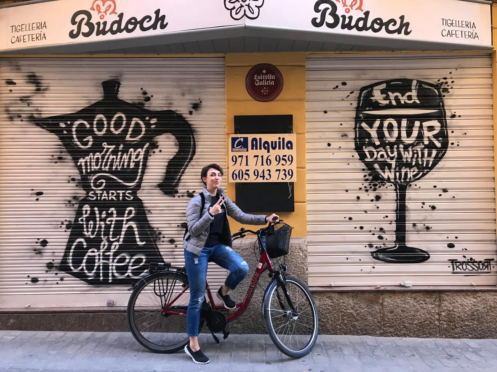 louer un vélo pour visiter palma