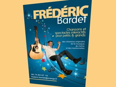 Création du flyer Frédéric Bardet - Les Fabricateurs d'images