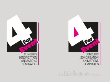 Création logo For Event - Les Fabricateurs d'images