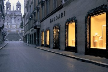 BULGARI SPANISH STEPS