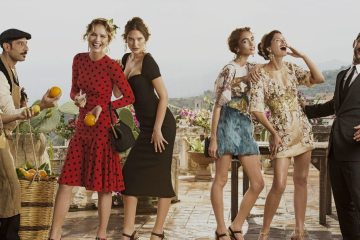 DOLCE & GABBANA SPRING 2014 AD CAMPAIGN