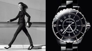 CHANEL SPRING 2014 WATCH AD CAMPAIGN 1