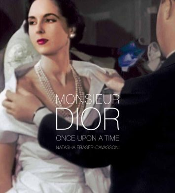 CHRISTIAN DIOR NEW BOOK 'MONSIEUR DIOR ONCE UPON A TIME'