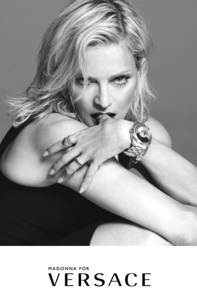 VERSACE SPRING 2015 AD CAMPAIGN FEATURING MADONNA 3