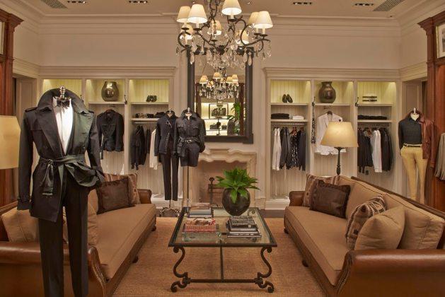 The Ralph Lauren store in Sao Paulo.