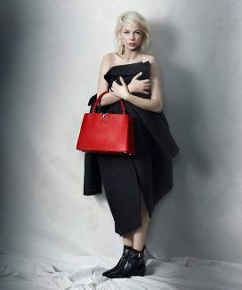 LOUIS VUITTON CAPUCINES HANDBAG CAMPAIGN FEATURING MICHELLE WILLIAMS 2