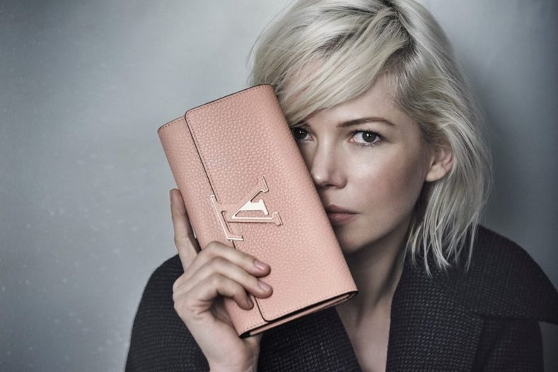 LOUIS VUITTON CAPUCINES HANDBAG CAMPAIGN FEATURING MICHELLE WILLIAMS 4