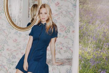 MANOUSH FALL 2015 AD CAMPAIGN FEATURING POPPY DELEVINGNE