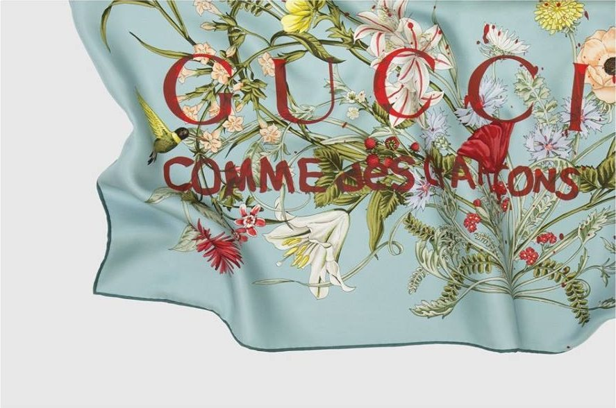 GUCCI X COMME DES GARCONS COLLABORATION 4