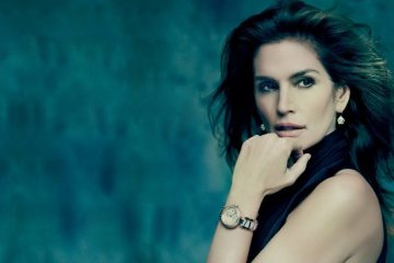 OMEGA CONSTELLATION PLUMA COLLECTION FEATURING CINDY CRAWFORD