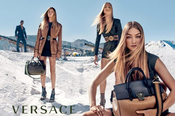 VERSACE SPRING 2016 AD CAMPAIGN