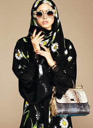 DOLCE & GABBANA HIJAB AND ABAYA COLLECTION
