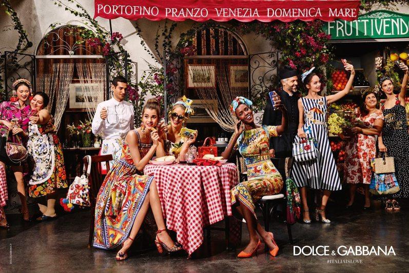 DOLCE & GABBANA SPRING 2016 AD CAMPAIGN 1