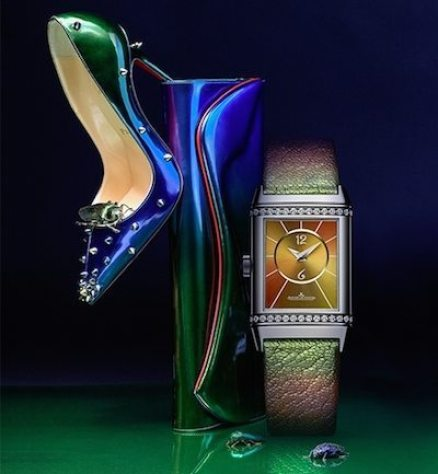 JAEGER-LECOULTRE X CHRISTIAN LOUBOUTIN REVERSO TIMEPIECE COLLECTION