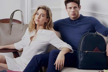 SMYTHSON SPRING 2016 AD CAMPAIGN FEATURING VANESSA KIRBY AND JAMES NORTON