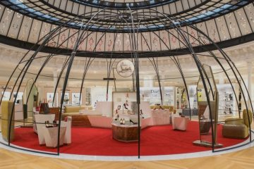 CHRISTIAN LOUBOUTIN BOUTIQUE AT LE BON MARCHE IN PARIS