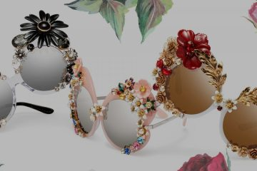 DOLCE & GABBANA FLOWERS LIMITED-EDITION EYEWEAR COLLECTION