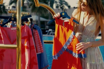 TORY BURCH SPRING 2016 COLLECTION FILM STARRING ANNA DELLO RUSSO