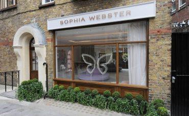 SOPHIA WEBSTER FIRST BOUTIQUE IN LONDON