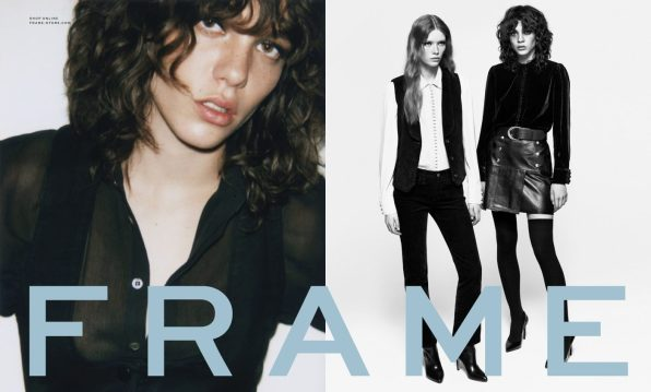 FRAME DENIM FALL 2016 AD CAMPAIGN