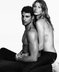 GIVENCHY JEANS FALL 2016 AD CAMPAIGN FEATURING GISELE BUNDCHEN
