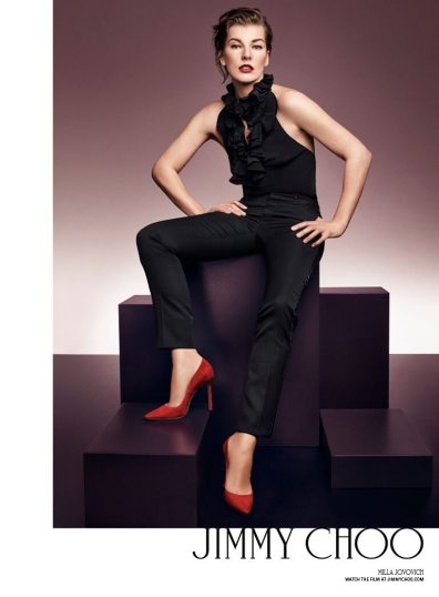 JIMMY CHOO 20TH ANNIVERSARY FALL 2016 AD CAMPAIGN