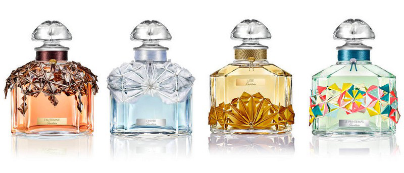 GUERLAIN FOUR SEASONS FRAGRANCE COLLECTION