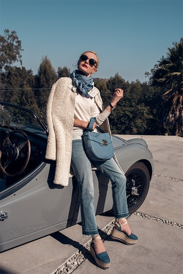 TORY BURCH GEMINI LINK AD CAMPAIGN FEATURING KATE BOSWORTH
