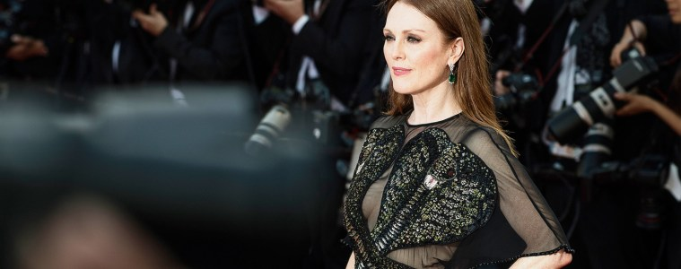 CHOPARD CANNES 2017 JEWELRY COLLECTION FILM STARRING JULIANNE MOORE