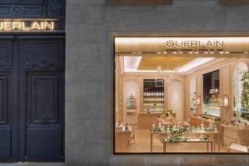 GUERLAIN NEW FRAGRANCE BOUTIQUE IN PARIS