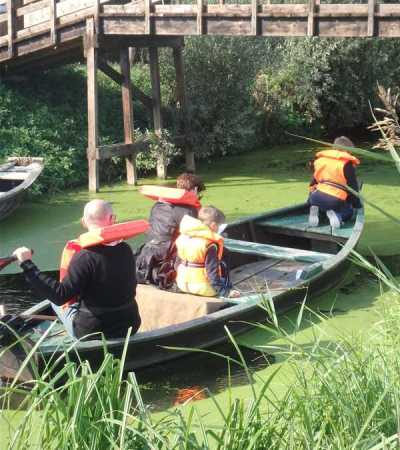 Balade en bateau st Omer