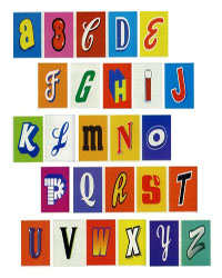 Faites votre alphabet !