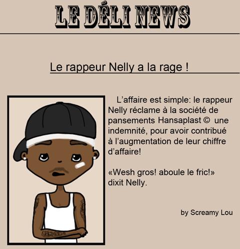 Nelly et Hansaplast